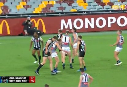 Did Travis Varcoe get robbed of the goal of the year by one second?