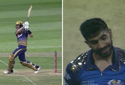 Pat Cummins destroys Jasprit Bumrah with six-hitting onslaught