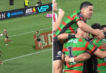 Team try of the year, absolute gift help Alex Johnston leapfrog Feldt with FIVE tries