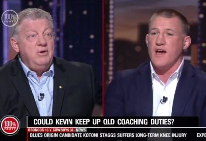 Gus Gould and Paul Gallen fire up over Kevin Walters coaching Queensland