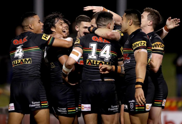 Penrith Panthers celebrate
