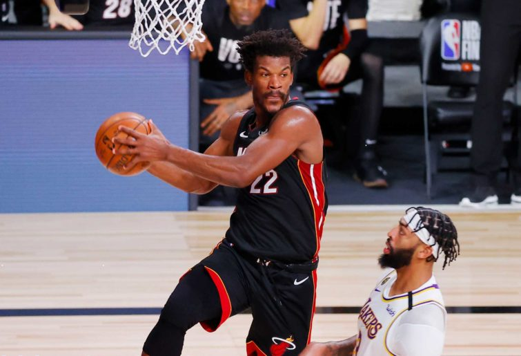 Jimmy Butler #22 of the Miami Heat