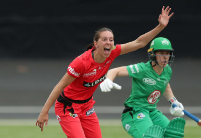 Courtney Neale snares her first WBBL wicket