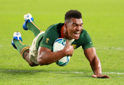 Is Damian Willemse the next Springbok 10?