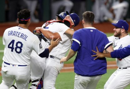 Dodgers crowned MLB World Series champs