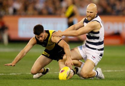 Richmond Tigers vs Geelong Cats: AFL grand final live scores