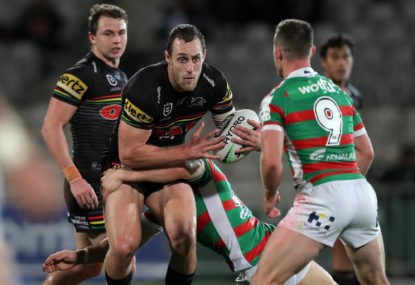 Penrith Panthers vs South Sydney Rabbitohs: NRL preliminary final live scores