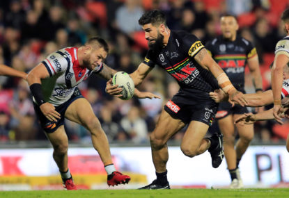 Penrith Panthers vs Sydney Roosters: NRL qualifying final live scores, blog