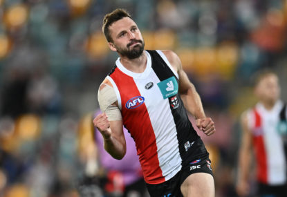 AFL top 100: St Kilda's games and goals