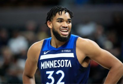 Karl-Anthony Towns and the Timberwolves are living a nightmare