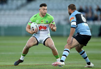 Canberra Raiders vs Cronulla Sharks: NRL elimination final live scores