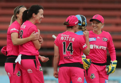 Lisa Griffith finds new confidence at the Sydney Sixers
