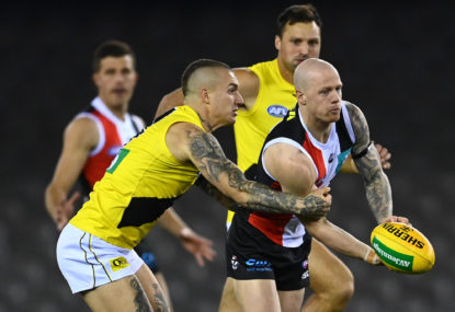 Richmond Tigers vs St Kilda Saints: AFL semi-final live scores