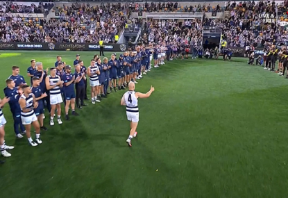 Touching scenes as Gary Ablett gets the send-off he deserves from players and fans
