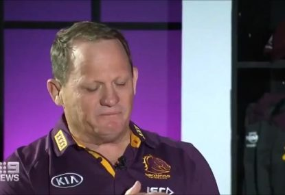 Emotions spill over as Kevvie Walters reveals what it means to coach the Broncos