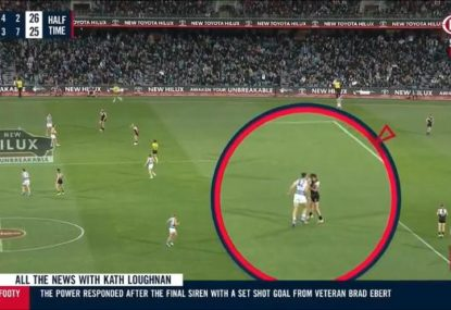Could an alleged headbutt see Port young gun in strife for home prelim?