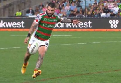 Did this 'crazy', millimetre moment cost the Rabbitohs a massive upset?