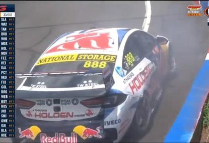Jamie Whincup crashes out of Bathurst with unforced error