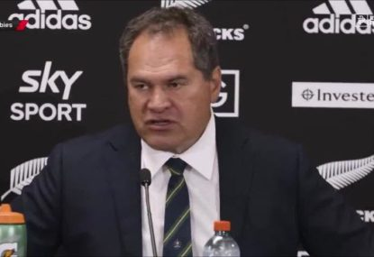 Dave Rennie flags changes after Wallabies' 'poor' tackling performances in Bledisloe 2