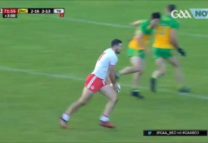 Conor McKenna lights up with outstanding goal on return to Gaelic football