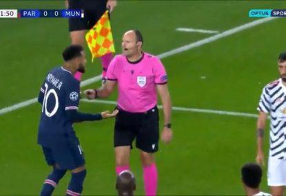 Champions League controversy as VAR allows Man Utd striker penalty retake