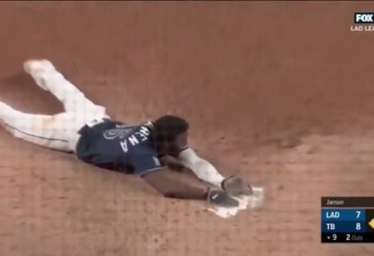 Tampa Bay win World Series game in the most dramatic way possible