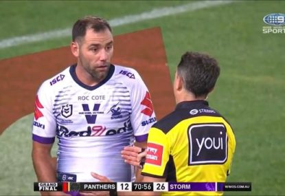 Cameron Smith in hot water for questioning the officials' integrity in massive spray