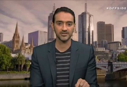 Waleed Aly's stinging sledge for anyone who liked the night AFL grand final