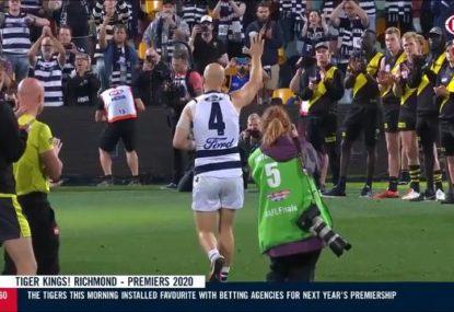 Jack Riewoldt reveals beautiful extra detail in Tigers' guard of honour for Gary Ablett