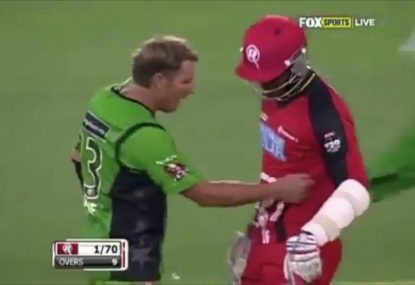 Marlon Samuels and Shane Warne reignite long-standing feud