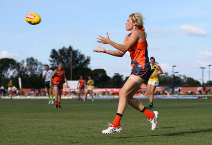 AFLW world shocked by sudden passing of Giants player Jacinda Barclay