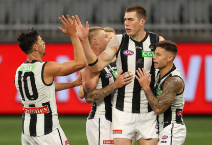 Magpies win thrilling elimination final over West Coast