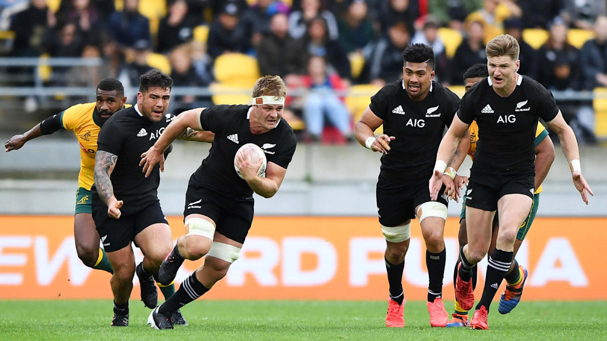 Why is there such variability in the All Blacks' forward performances?