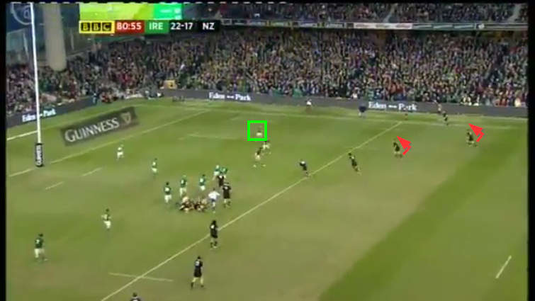 all blacks' width vs ireland
