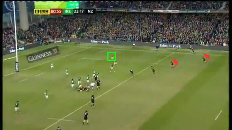 all blacks' width vs ireland