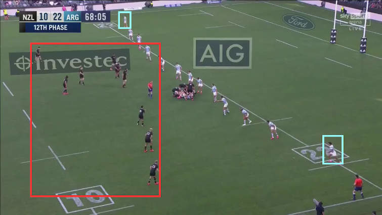 all blacks attacking structure vs argentina