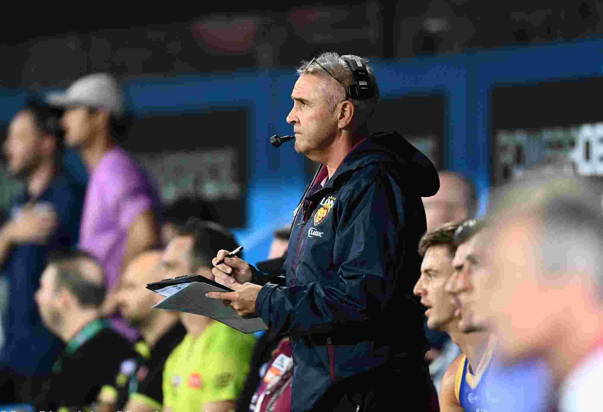 Lions coach Chris Fagan