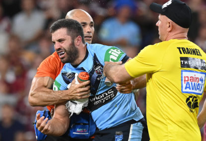 Tedesco treatment leaves Cleary unhappy