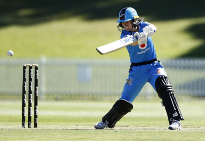 Katie Mack still hopeful for a Strikers finals spot