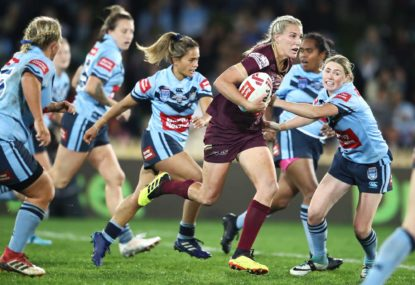 Queensland Maroons vs NSW Blues: Women's State of Origin live scores, blog