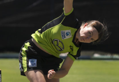 Multi-sport superstar Sam Arnold joins the Thunder for WBBL06