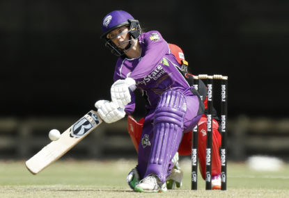 The Hurricanes post their first win of WBBL06