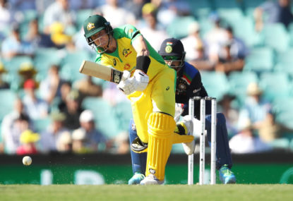 Batting firepower and rusty fielding dominate as Australia belt India