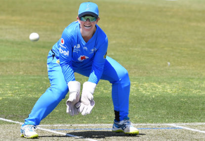 Meet Tegan McPharlin, the Strikers' introverted wicketkeeper