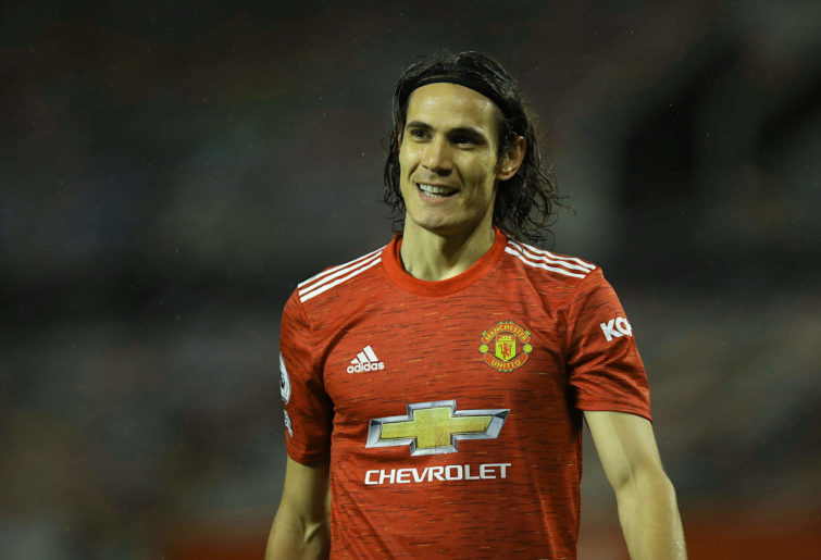 Edinson Cavani of Manchester United