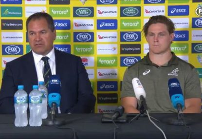 Dave Rennie urges fans to stay patient after Bledisloe thrashing