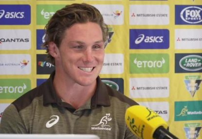Michael Hooper on the quest to win the Tri-Nations and going up against Michael Cheika