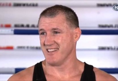 'S--t, who cares?' Paul Gallen says there's no pressure on him at all ahead of fight with Mark Hunt