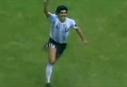 A selection of Diego Maradona's greatest goals