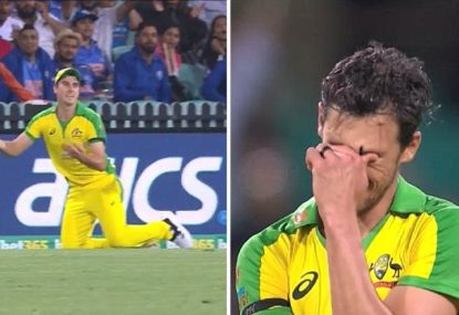 Horror Pat Cummins moment continues Mitchell Starc's nightmare game
